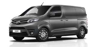 Rent a Toyota Proace (2018) with Webasto Cabin Heating